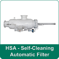 HSA - Self-Cleaning Automatic Filter