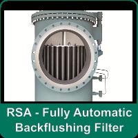 RSA - Fully Automatic Backflushing Filter